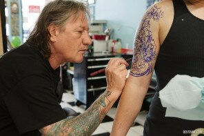 The Legendary Tattoo Artist Greg James